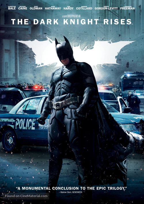 the dark knight conclusion A perfect conclusion to one of the best trilogies in history, the dark knight rises balances smarts, action and emotion with expert precision.