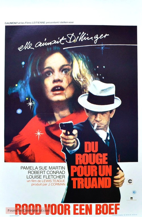 The Lady in Red - Belgian Movie Poster