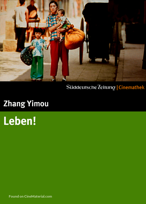 Huozhe - German Movie Cover
