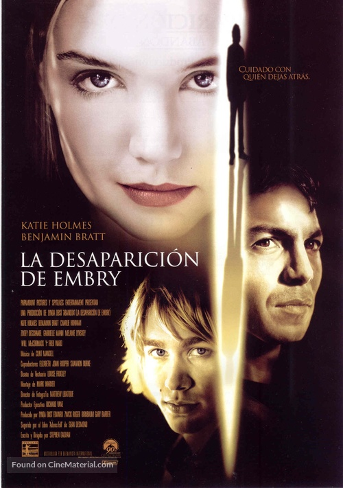 Abandon - Spanish Movie Poster