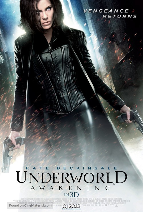 Underworld: Awakening - Movie Poster