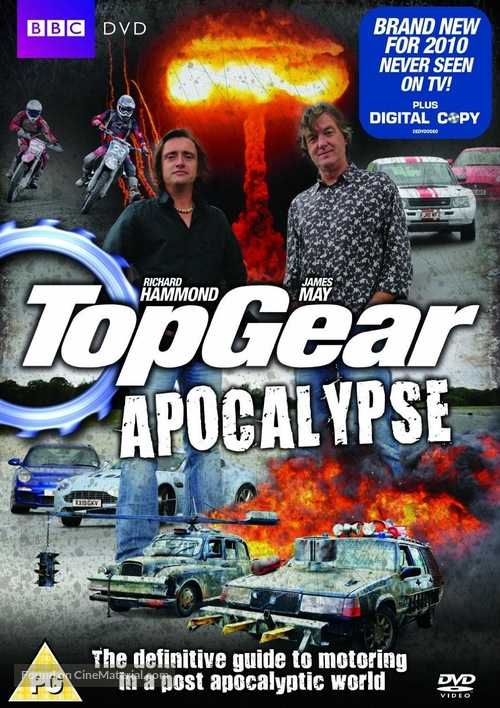 Top Gear Apocalypse - DVD cover