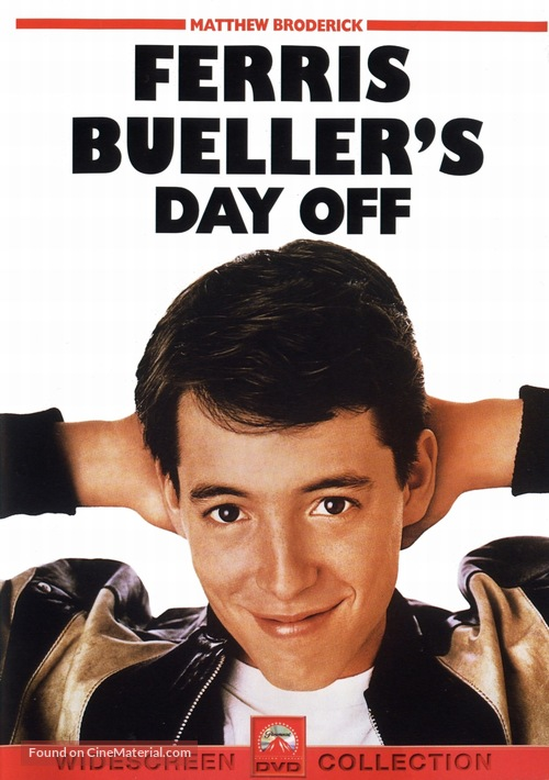 Ferris Bueller's Day Off - DVD movie cover