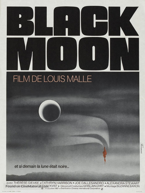 Black Moon - French Movie Poster