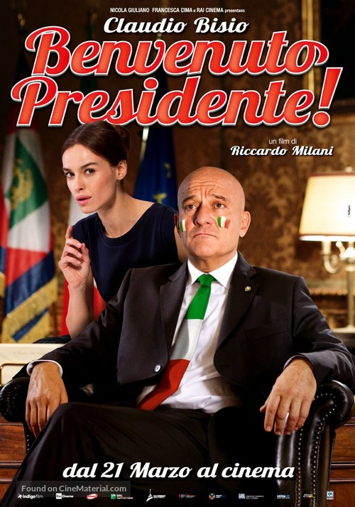 Benvenuto Presidente! - Italian Movie Poster