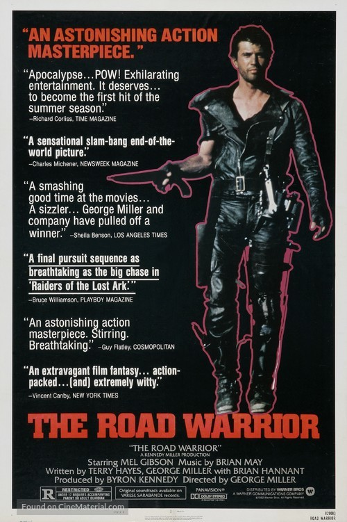 Mad Max 2 - Movie Poster