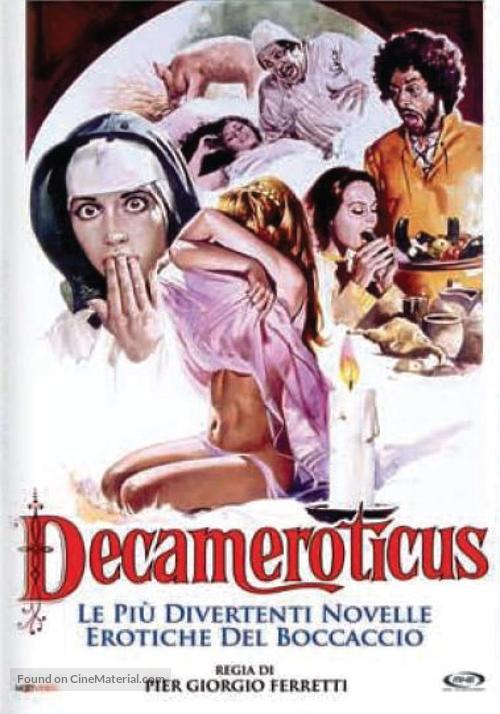 Decameroticus - Italian DVD movie cover