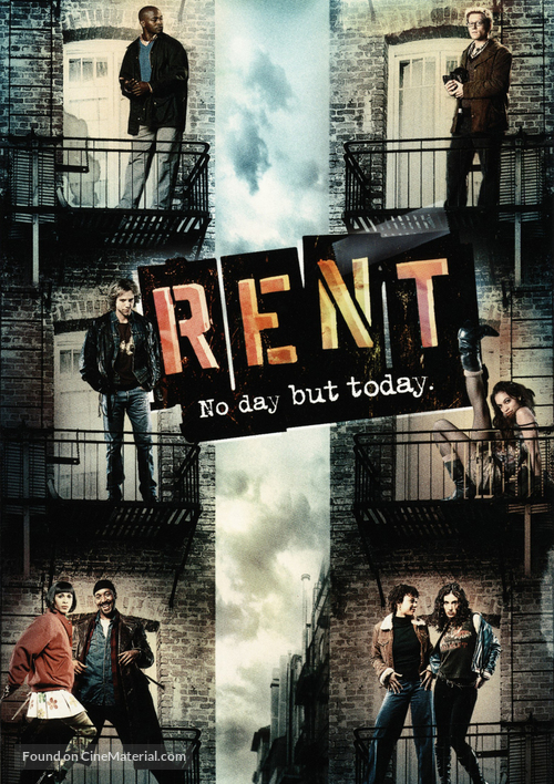 Rent - DVD movie cover