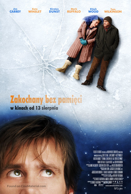 Eternal Sunshine of the Spotless Mind - Polish Movie Poster