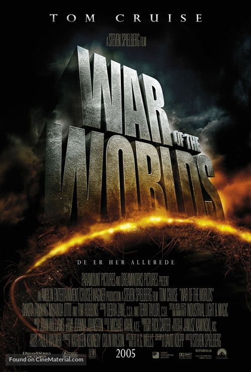 War of the Worlds - Norwegian Movie Poster
