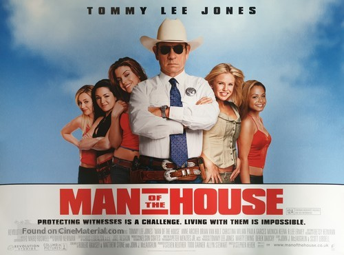 Man Of The House - British Movie Poster