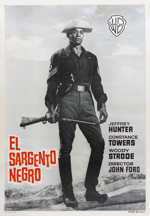 Sergeant Rutledge - Spanish Movie Poster