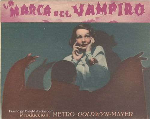 Mark of the Vampire - Spanish Movie Poster