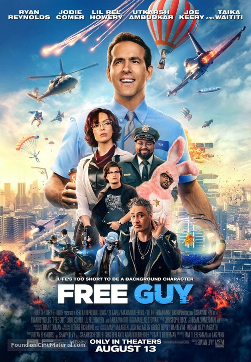 Free Guy - Movie Poster