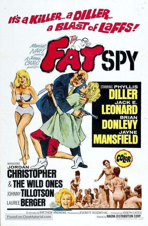 The Fat Spy - Movie Poster