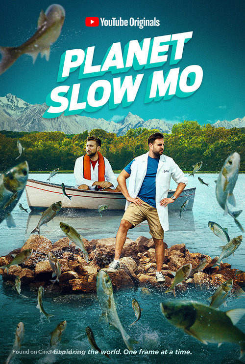 """Planet Slow Mo"" - Movie Poster"