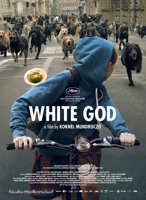Fehér isten - Hungarian Movie Poster