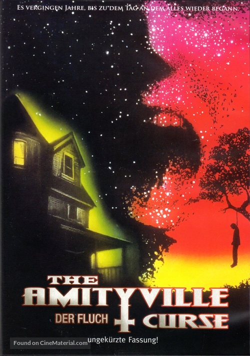 The Amityville Curse - German DVD movie cover