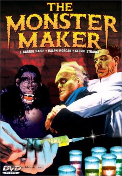 The Monster Maker - DVD movie cover