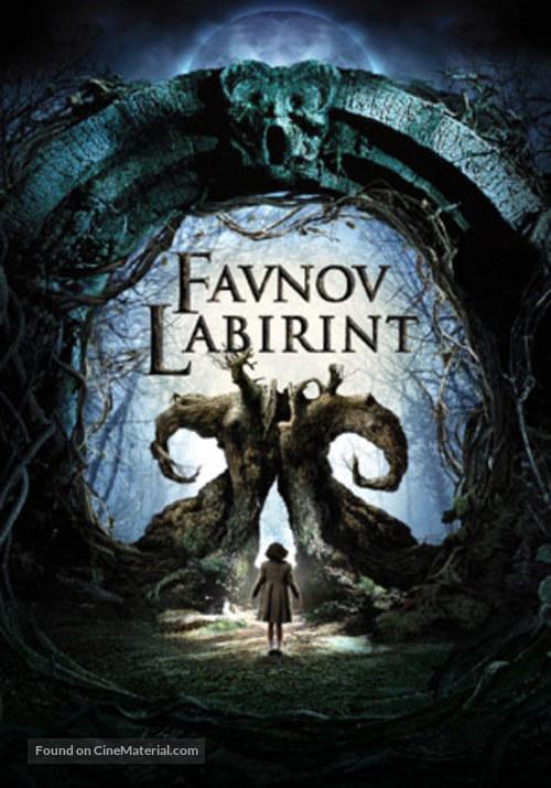 El laberinto del fauno - Slovenian Movie Poster