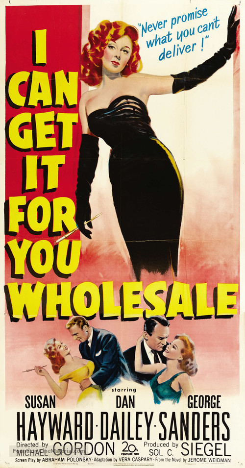 I Can Get It for You Wholesale - Movie Poster