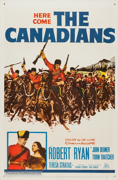 The Canadians - Movie Poster