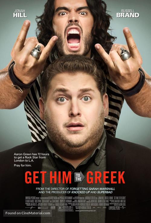Get Him to the Greek - Movie Poster