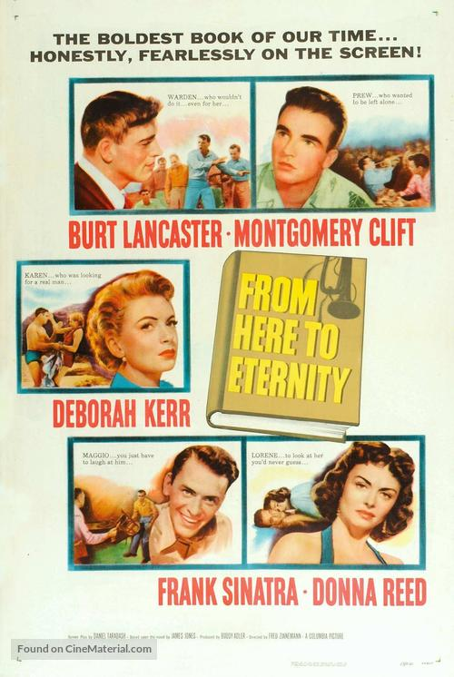 From Here to Eternity - Movie Poster