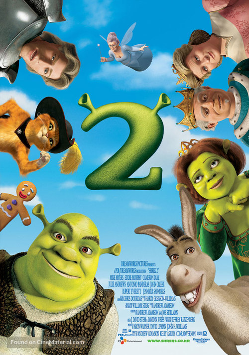 Shrek 2 - South Korean Movie Poster