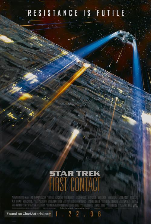Star Trek: First Contact - Advance movie poster