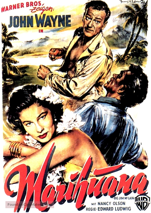 Big Jim McLain - German Movie Poster