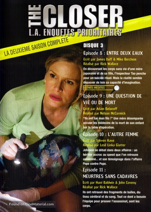 """""""The Closer"""" - French Movie Cover"""