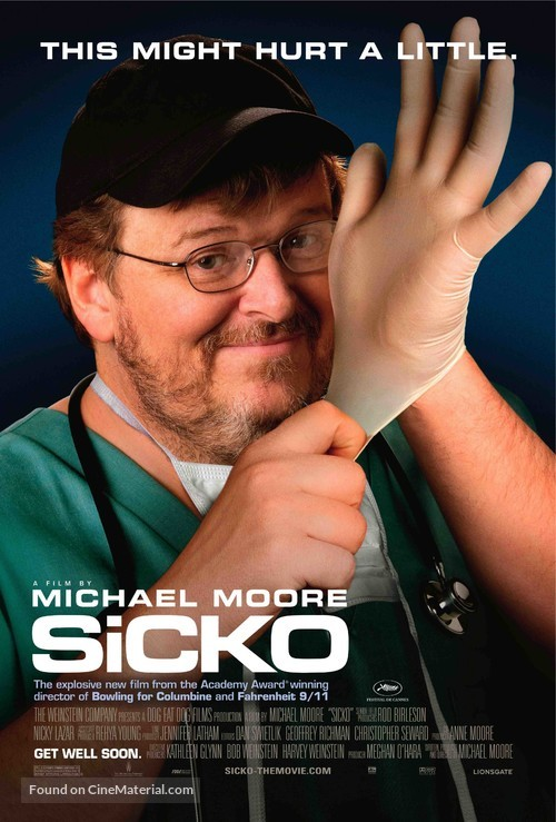 an examination of michael moores documentary sicko