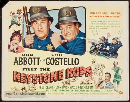Abbott and Costello Meet the Keystone Kops - Movie Poster