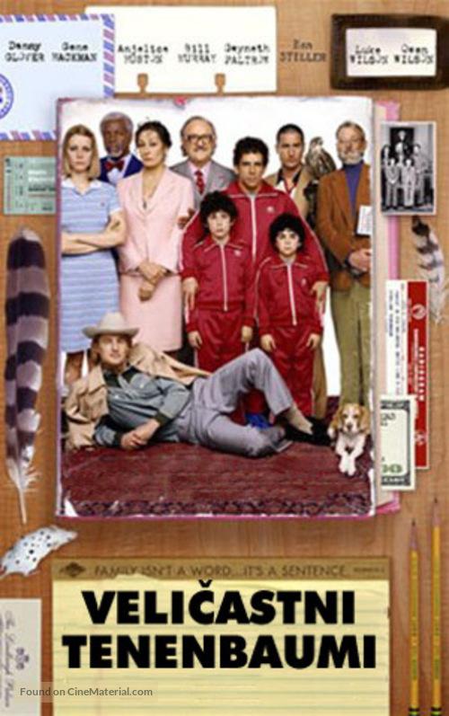The Royal Tenenbaums - Slovenian Movie Poster