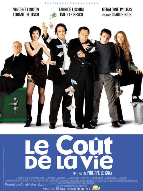 Le coût de la vie - French Movie Poster