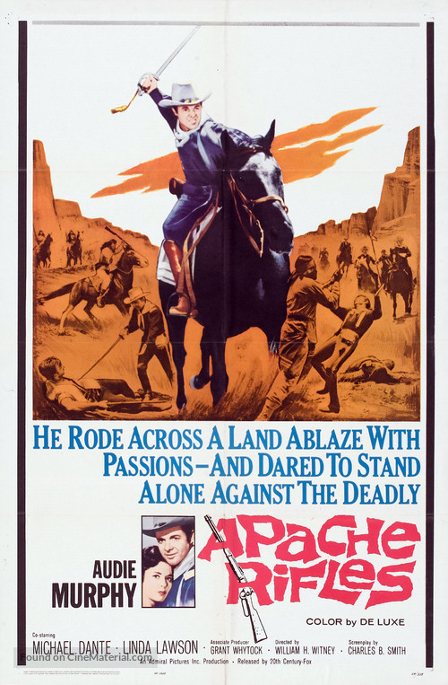 Apache Rifles - Movie Poster