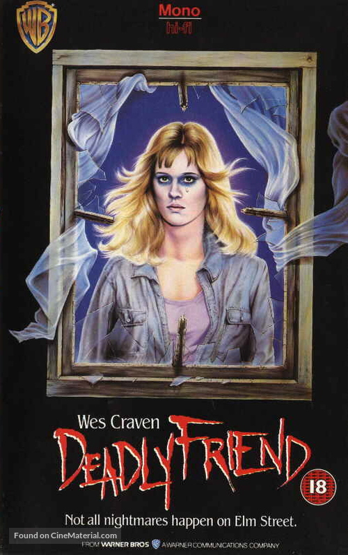 Deadly Friend - British VHS cover