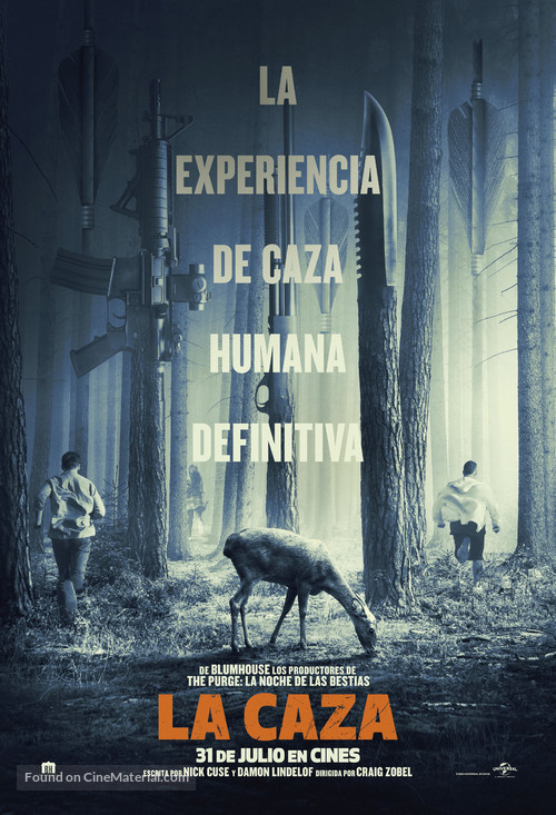 The Hunt - Spanish Movie Poster