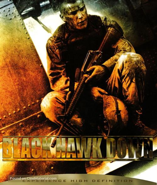 Black Hawk Down - Blu-Ray movie cover