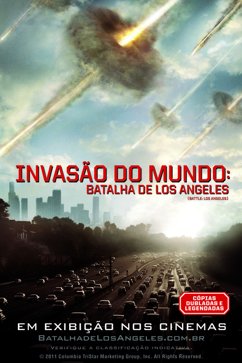 Battle: Los Angeles - Brazilian Movie Poster