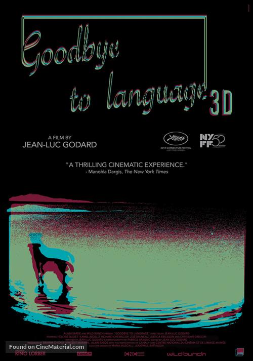 Adieu au langage - Movie Poster