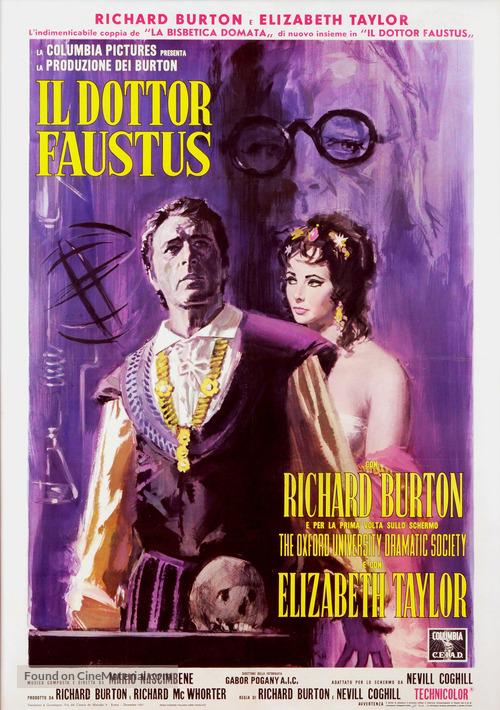 Doctor Faustus - Italian Movie Poster