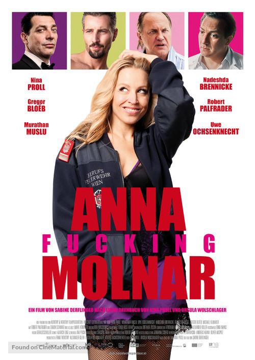 Anna Fucking Molnar - Austrian Movie Poster