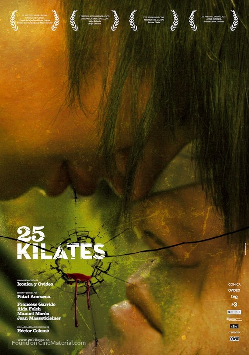 25 kilates - Spanish Movie Poster
