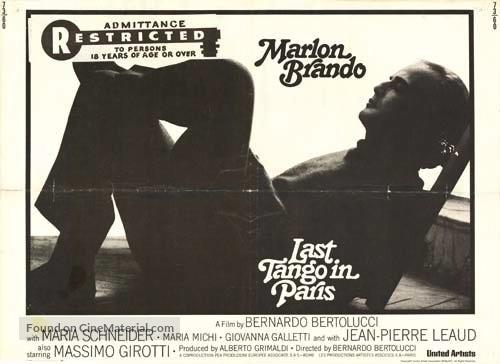 Ultimo tango a Parigi - Movie Poster