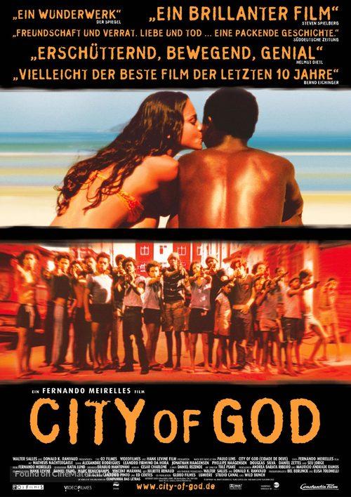 Cidade de Deus - German Movie Poster