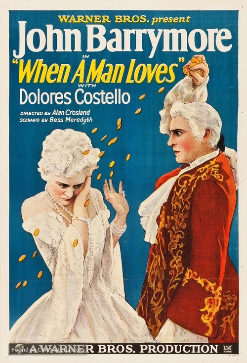 When a Man Loves - Movie Poster