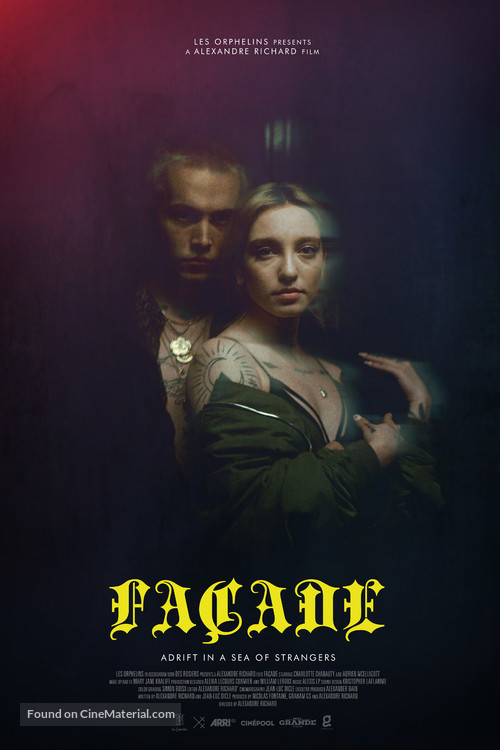 Facade - Adrift in A Sea of Strangers - Canadian Movie Poster