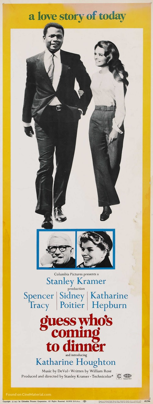 Guess Who's Coming to Dinner - Movie Poster